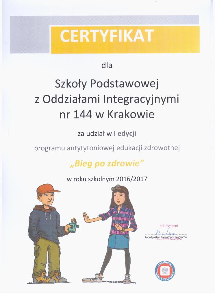 certyfikat 5 001