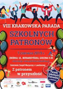 plakat VIII Parada Szkolnych Patronów